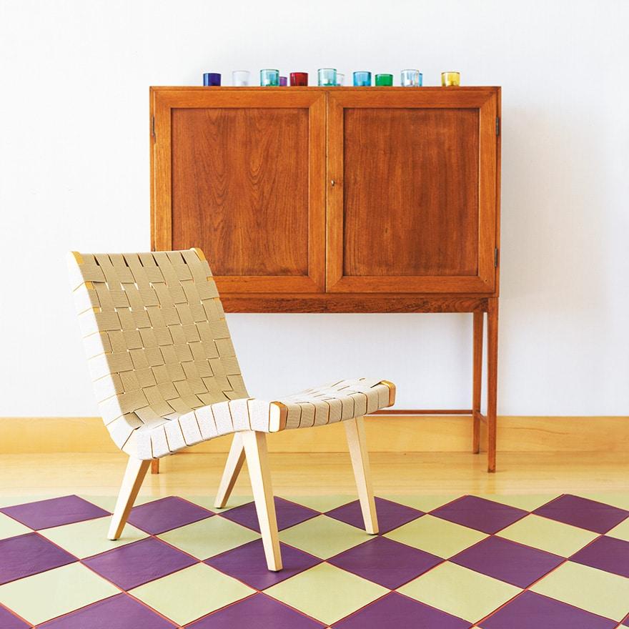 Scandinavische stoel Risom Lounge