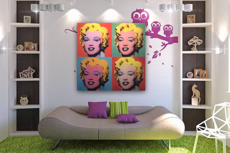 Pop art interieur